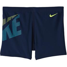 Nike Swim Tilt Square Leg Shorts Boys, azul